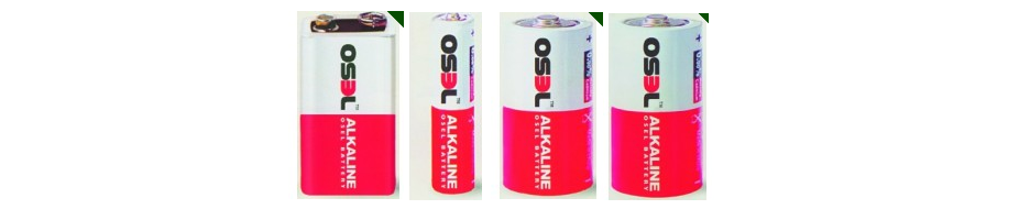 ALKALINE BATTERIES OSEL